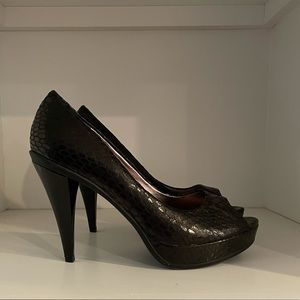 Leather Heels Kenneth Cole